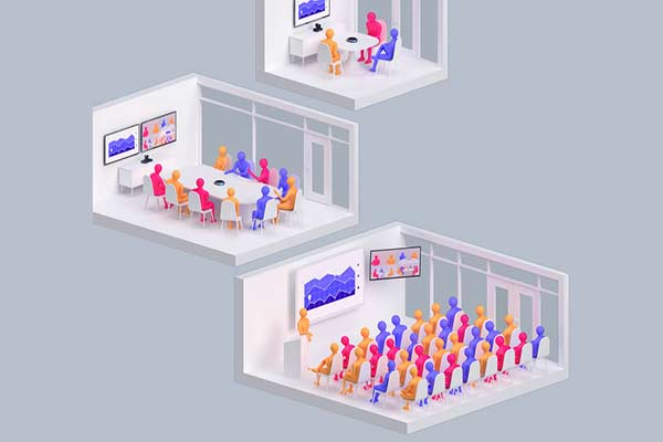 سیستم ویدئو کنفرانس